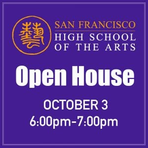 Thu, Oct. 3 — Open House @ 6-7pm