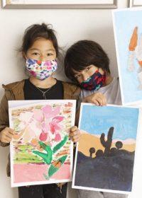 Kids Painting Mask